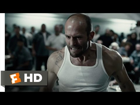 Death Race 212 Movie CLIP  Prison Cafeteria Fight 2008 HD