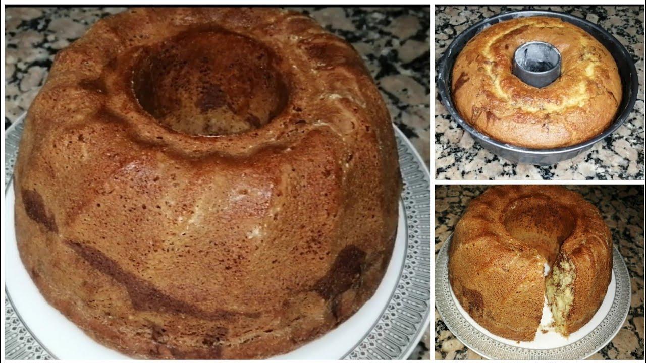 الكيكة اليومية مع السرررر كيفاش تجيك طالعة و مفشفشة وبحجم عائلي !!