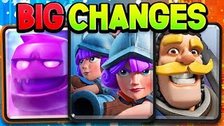 News: MORE balance changes & season 6 Clash Royale