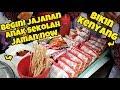 JANGAN KAGET!! BEGINI LOH JAJANAN ANAK SD JAMAN SEKARANG!!   INDONESIA STREET FOOD