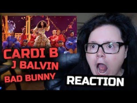 Cardi B, Bad Bunny, & J Balvin I Like It - Live at the American Music Awards   Reaction