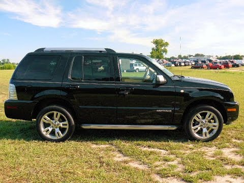 2010 mercury mountaineer v8 awd for sale 800 655 3764 tf500957b youtube. Black Bedroom Furniture Sets. Home Design Ideas