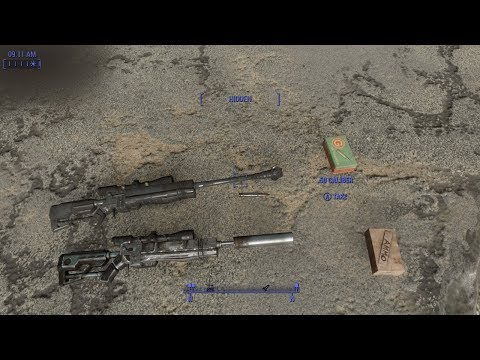 Fallout 4 SkillzWP PGM Hecate ll Sniper Rifle Display by
