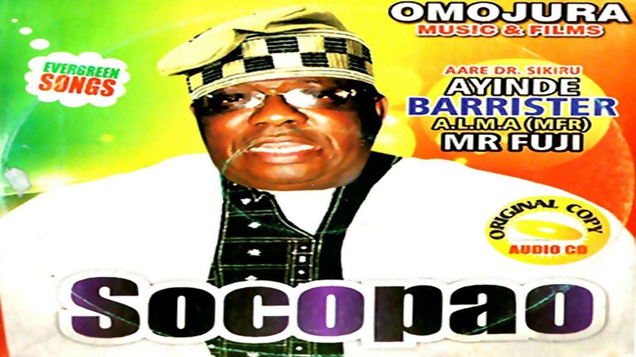 Download Sikiru Ayinde Barrister - Socopao (Audio)  - 2019 Yoruba Fuji Music New Release this week 😍