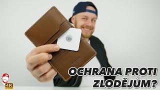 ???? Jak se nenechat okrást? Chytrá peněženka Nomad Slim Wallet + Tile Tracking | WRTECH [4K]