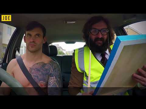 When comedian Joe Wilkinson turns up as your driving instructor it was only ever going to go south!
