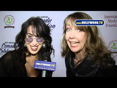 Maggie Wheeler and Monica Horan YT The 4th Annual Comedy Celebration The Wilshire Ebell Theatre 111310