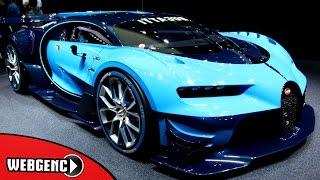 Yeni Bugatti Chiron 2016 ve En Kaliteli Hızlı 20 Araba