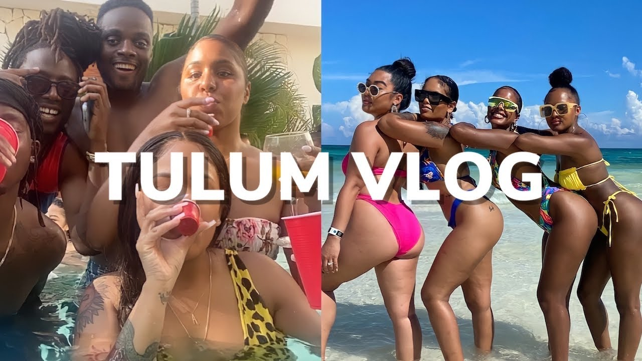WEEKLY VLOG IN MEXICO, TULUM | VACATION VLOG WITH FRIENDS | Arnellarmon