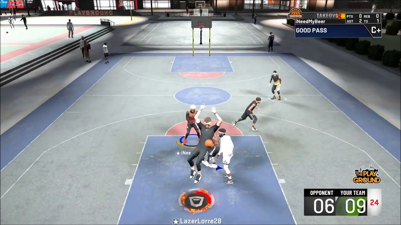 LazerLorre Mixtape😈🔥   Crazy Contact Dunks😴   NBA 2K20