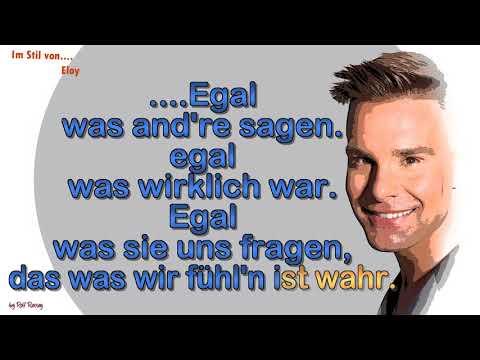 Eloy -  Egal was andere sagen - Instrumental mit Melody
