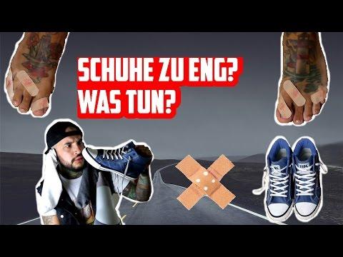 Schuhe zu eng? Was tun? Lifehack & DIY | Ash April YouTube