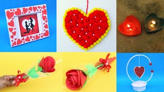 5 Diy Valentine's Day Gift Ideas| Affordable Valentine Gifts For Him/her| Valentine's Day Craft 2020