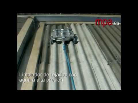 Limpiador de tejados y cubiertas de uralita y tejas www - Tejados de uralita ...