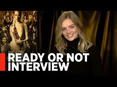 READY OR NOT - Samara Weaving Interview [Exclusive]