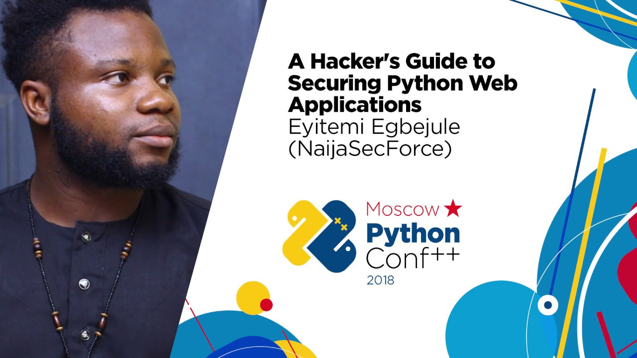 Image from A Hacker's Guide to Securing Python Web Applications / Eyitemi Egbejule (NaijaSecForce)