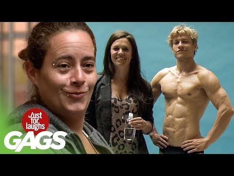 Seducing Girls With Six Pack ABS Prank