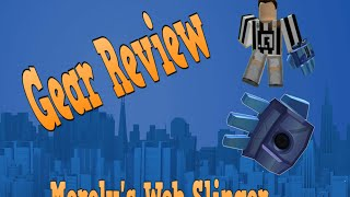 Gear Review Roblox: Bloß Web Slinger