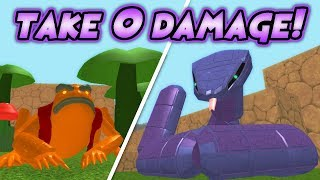 How To Beat ANY Boss Without Taking Damage in Naruto RPG: Beyond! | Roblox