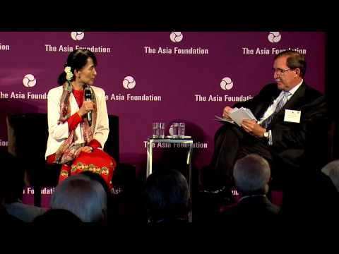 Aung San Suu Kyi   Discussion at The Asia Foundation, September 28, 2012