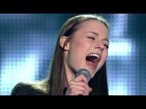 """The Voice of Poland IV - Katarzyna Sawczuk - """"Titanium"""" - Przesłuchania w ciemno"""