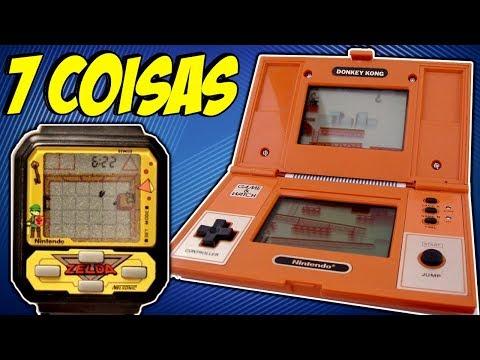 7 COISAS SOBRE O GAME & WATCH CURIOSIDADES DE CONSOLES