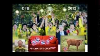 12.05.2012 * DFB-Pokal  1 PIC/FOTO Munich-Dortmund (EIGENVIDEO)