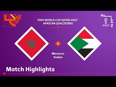 Morocco v Sudan | FIFA World Cup Qatar 2022 Qualifier | Match Highlights