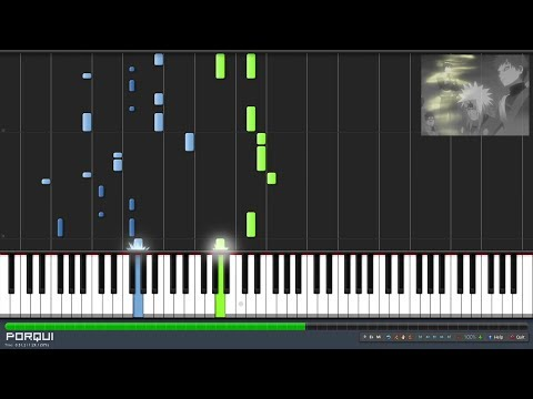 Naruto Ending 13 - Yellow Moon (Piano Synthesia)