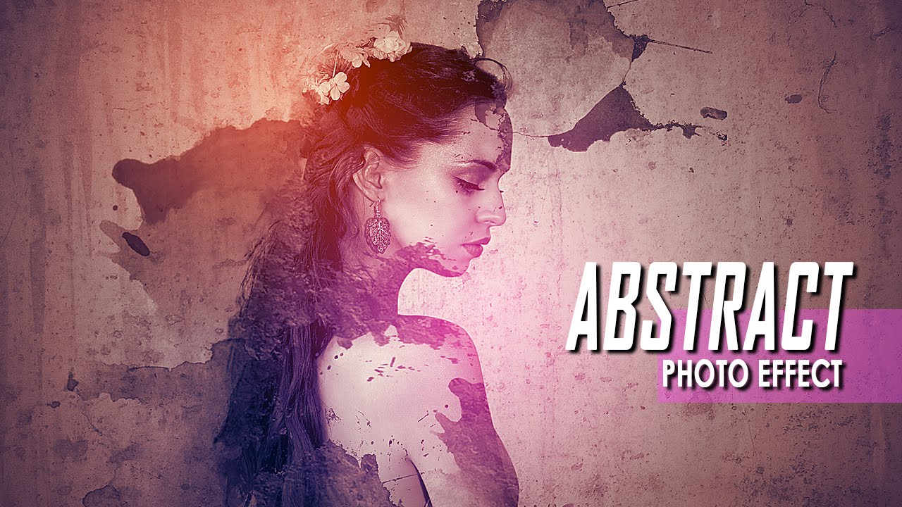 Making Abstract Portrait Photo Effect In Photoshop CC