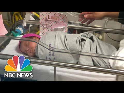 Mother Who Gave Birth To Daughter While In COVID-19-Induced Coma Takes Baby Home   NBC Nightly News