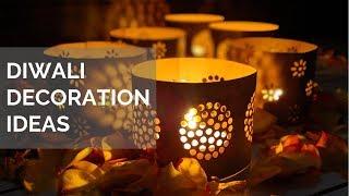 Diwali Decoration Ideas | Easy Diwali Decor |  Quick & Simple Diwali Decorations Ideas