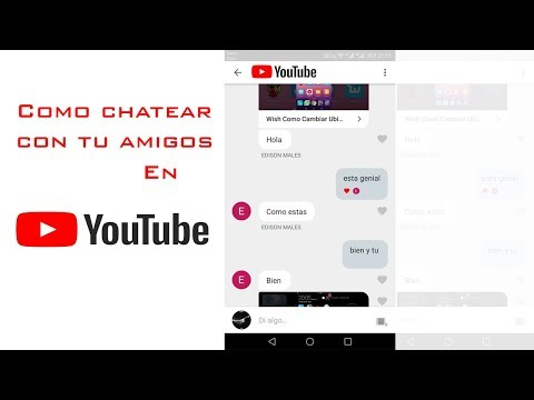 Como Chatear Con Amigos En Youtube, Activar Chat En YouTube, New Chat In Youtube