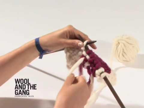 11 fair isle carry on the yarn over - YouTube