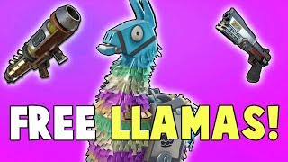 Free Event Llamas! HUGE Birthday Llama Refund | Fortnite Save The World News