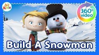 Let's Build a Snowman!   Find the Pieces (360° Video)