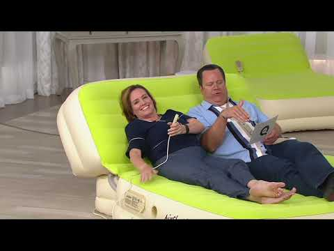 Air Cloud Inflatable Airbed with Inclining Backrest on QVC