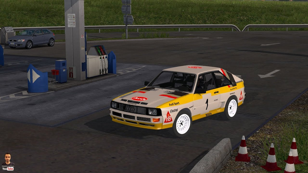 Ets2 128pdtaudi S1 Quattro Rally Edition Youtube