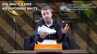 OFF-WHITE x NIKE AIR VAPORMAX WHITE UNBOXING | IS THIS VIRGILS BEST PAIR YET?