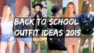 Back To School Outfit Ideas 2015 | Aidette Cancino