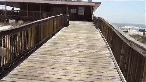 A Video Tour of Sea & Suds Restaurant in Gulf Shores, Alabama