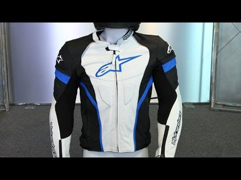 Alpinestars Leather Jacket >> Alpinestars GP Plus R Perforated Leather Jacket | Motorcycle Superstore - YouTube