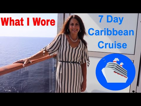 What I Wore On Our Caribbean Cruise