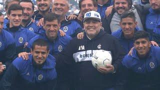 Maradona desata devoción como nuevo entrenador de Gimnasia de Argentina | AFP