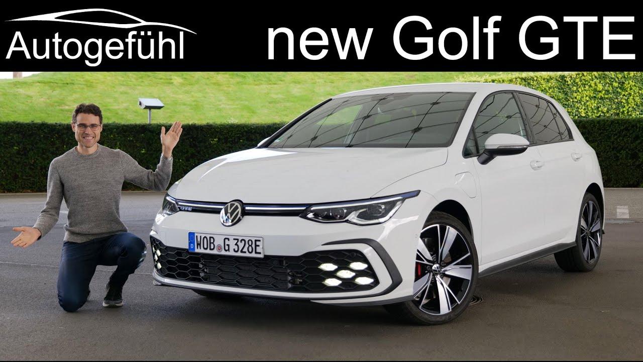 All New Vw Golf Gte Mk 8 Full Review 2021 Plugin Hybrid Autogefuhl Youtube