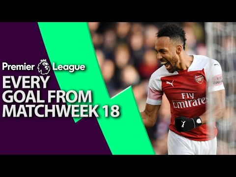 Every goal from Premier League Matchweek 18 | NBC Sports