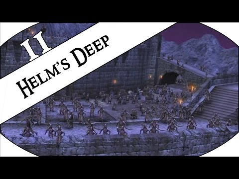 HELM'S DEEP - Let's Play LotR: The Battle For Middle-Earth - Good Campaign - Ep.11!
