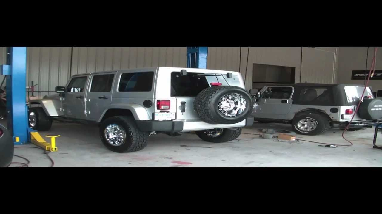 Jeep Wrangler Unlimited Lift How To Do a 3 Inch Lift on a 2012 Jeep Wrangler Unlimited - YouTube