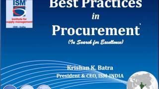 Best Practices in Procurement