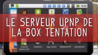 Utiliser le serveur multimedia UPnP-AV de la NordNetBox Tentation